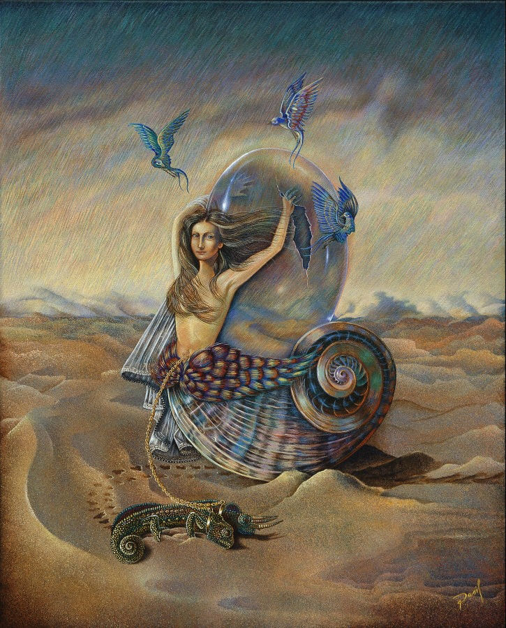 David Silva - Dasil | Mexican Imaginative Surrealist painter