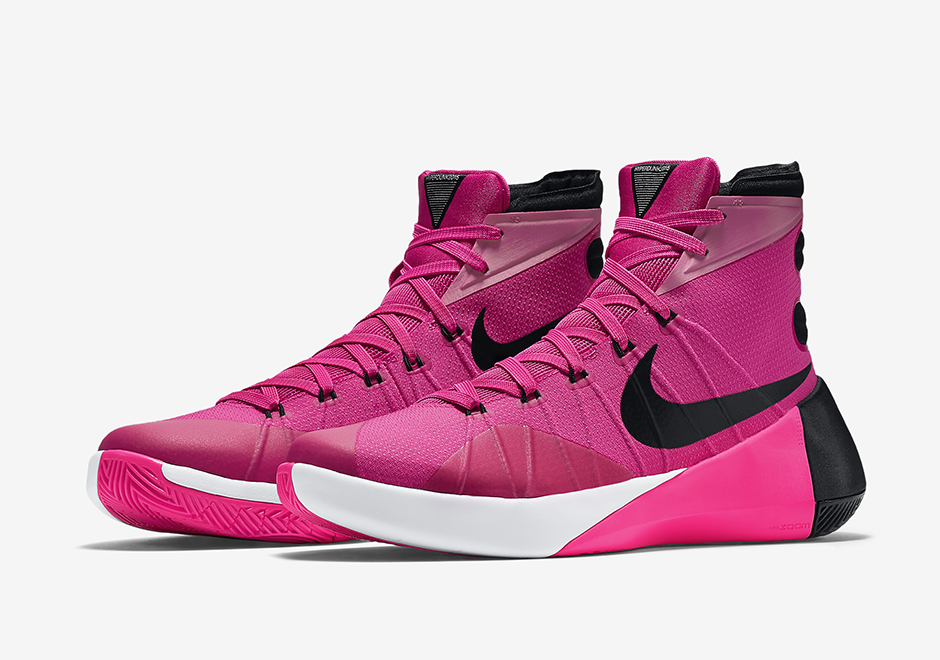 """Mecánico diversión Recuento  Wholesale Nike & Air Jordans Shoes - Sneakers Outlet: nike hyperduck 2015  """"Thinks Pink"""" release in this fall season"""