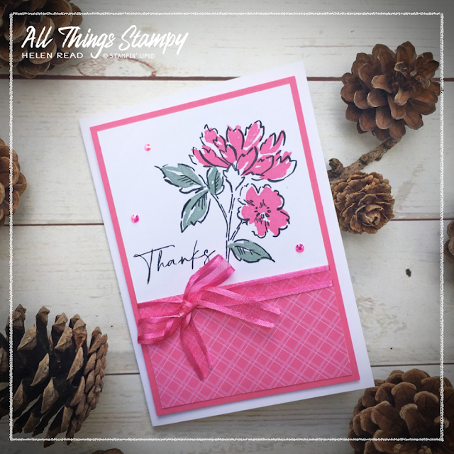 Stampin Up Polished Pink In Colors 2021 Hand Penned Petals
