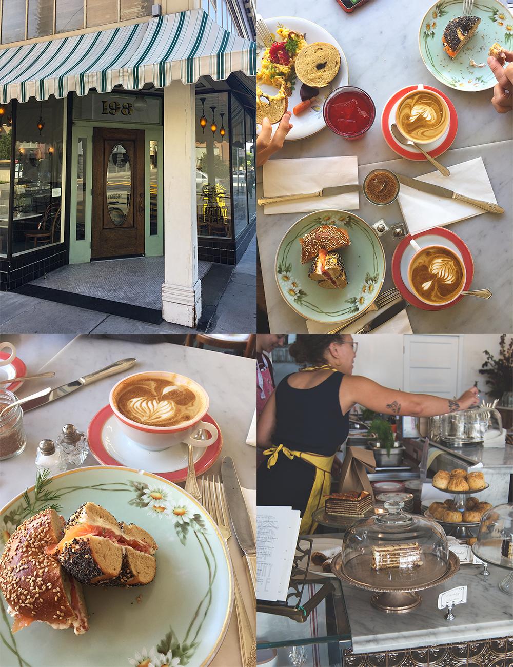 California Dreaming - wunderschönes aus Francisco und Tartine`s Morning Buns mit Orange und Zimt-Zucker