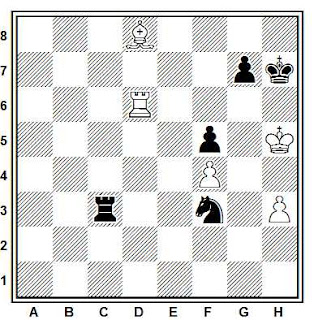 Problema ejercicio de número ajedrez 728: Horovez - Gurieli (Erevan, 1985)