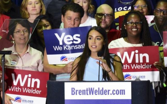 Bernie Sanders, Alexandria Ocasio-Cortez wade into GOP Rich Kansas