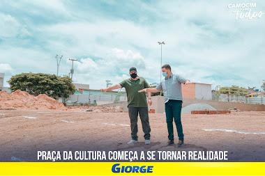POLÍTICA -  Giorge Bezerra, prefeito de Camocim de São Félix, se torna referência em gestão pública de uma região