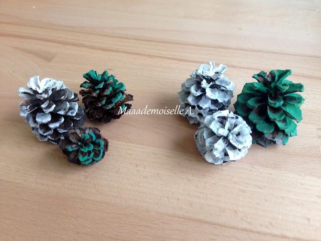    Activité : Sapins de Noël (ou non) avec des pommes de pin