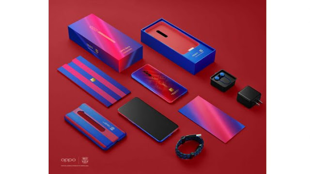 Best NEWS OPPO Announces Beste New Reno 10X Zoom FC Barcelona Edition