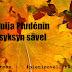 Tuija Pludénin syksyn sävel