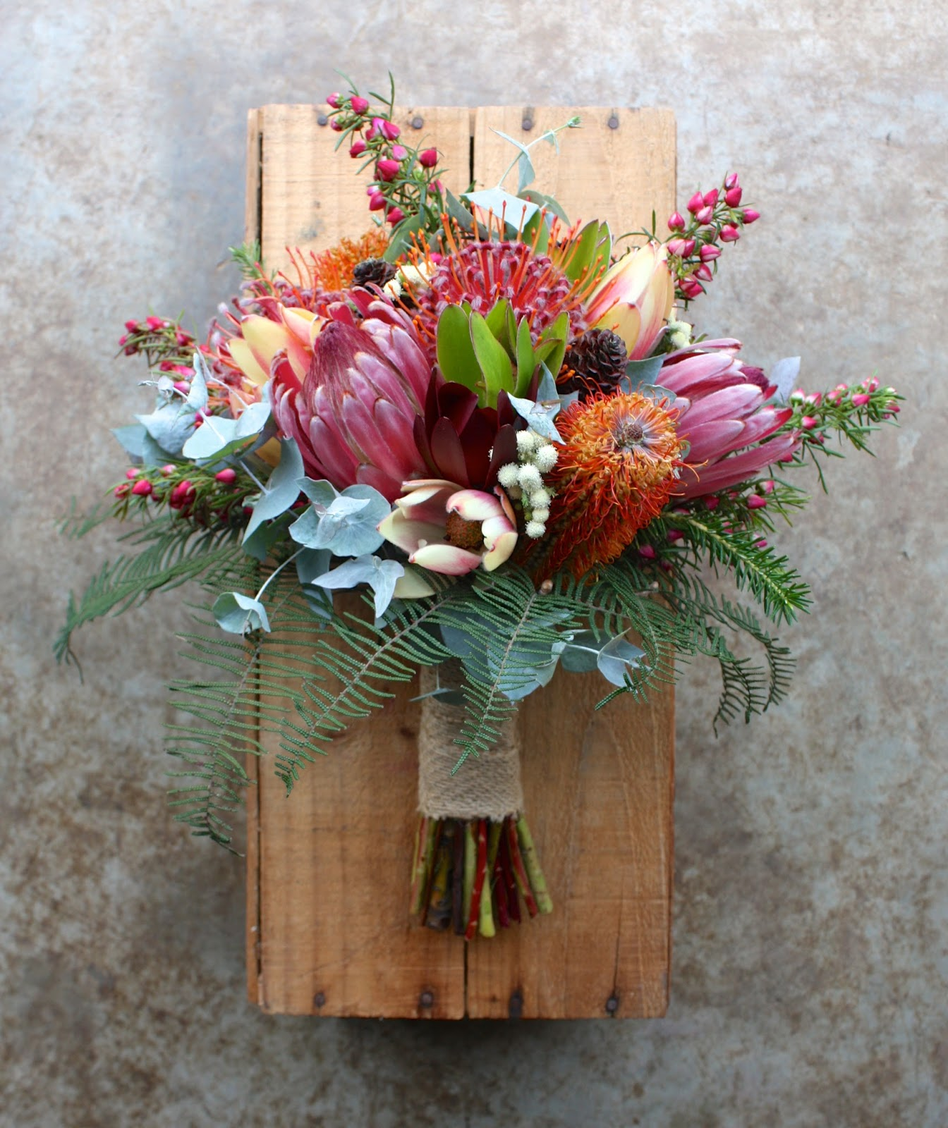 Wedding Bouquets For December : Swallows nest farm colourful summer wedding in early december