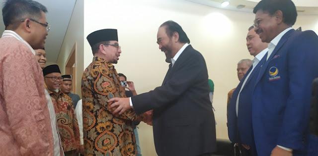 Manuver Surya Paloh: Kalau PDIP-Gerindra Bisa Akrab, Nasdem-PKS Jauh Lebih Mesra