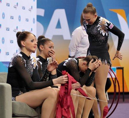 olympisch kampioen turnen dames