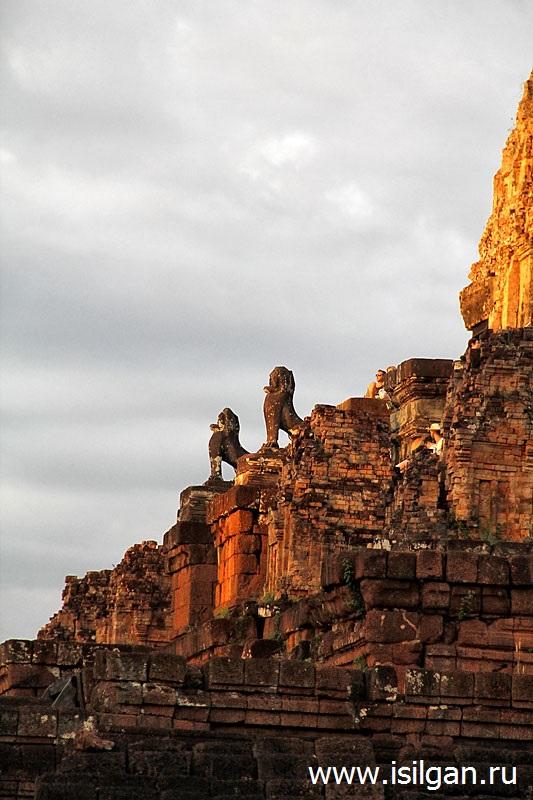 Пре Руп (Pre Rup). Камбоджа. Cambodia. Siem Reap. Angkor