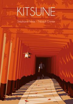 Couverture de Kitsune de Stéphane Presle et Thibault Chimier chez La Boîte à Bulles