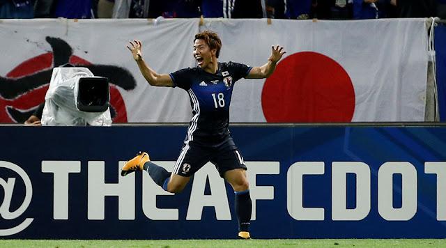 Japón clasifica a Rusia 2018 tras derrotar 2-0 a Australia