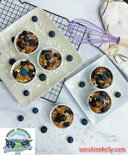 Oregon & Washington Blueberries Oatmeal Muffins Recipe, Oregon & Washington Blueberries, Oatmeal Muffins Recipe, Blueberries Recipe, Baking, Food