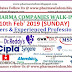 Walk-Ins List for Freshers & Exp. Candidates (10th Feb'19) for QC, QA, Production, R&D, Engineering, RA, Maintenance