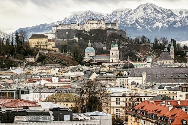 Salzburg in winter: Fortress Hohensalzburg