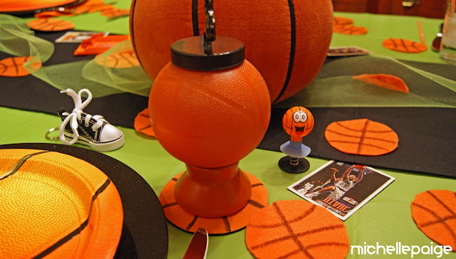 Basketball Table decor