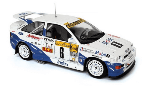 WRC collection 1:24 salvat españa, Ford Escort RS Cosworth 1:24