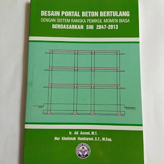 Buku sipil Desain Portal Beton Bertulang Dg SRMB