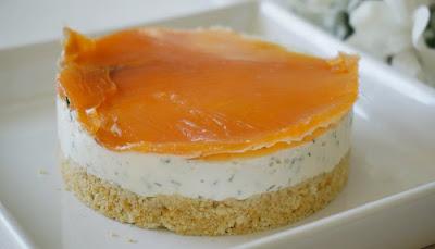 Cheesecake salmon