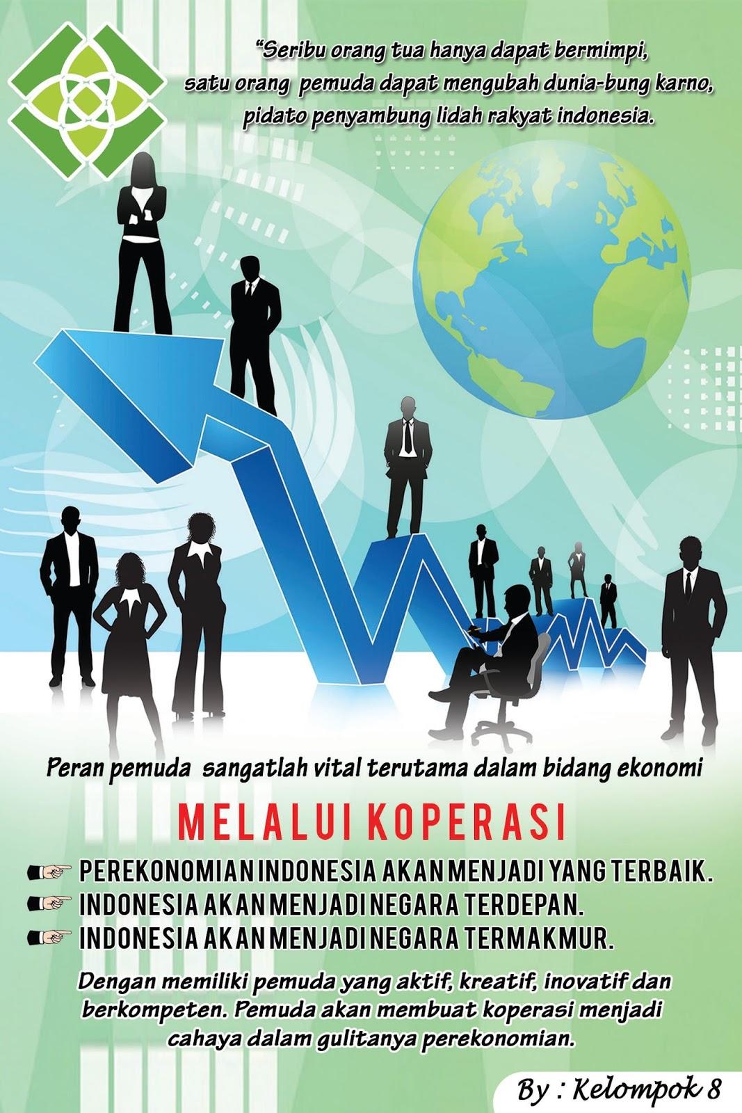 Ekonomi Akuntansi Poster Peran Generasi Muda Dalam