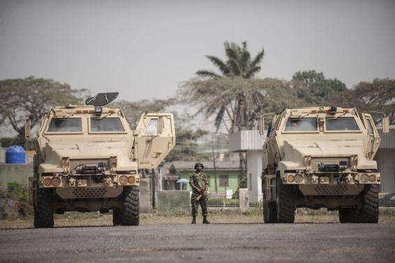 Armoured Vehicle Explodes In Damaturu