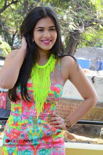 Telugu Actress Prasanna Stills in Short Dress at Inkenti Nuvve Cheppu Press Meet Stills  0081.JPG