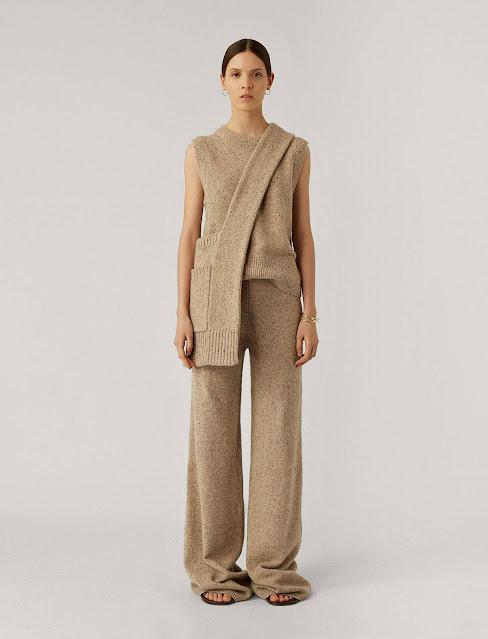 Joseph Tweed Knit Trousers