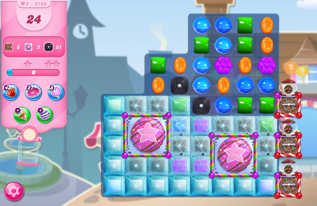 Candy Crush Saga level 5789