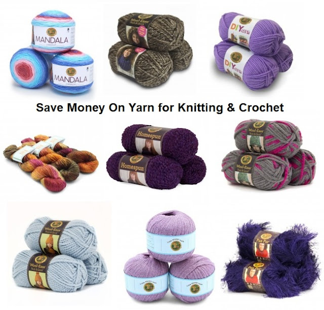 Clearance sale on yarn by Lion Brand