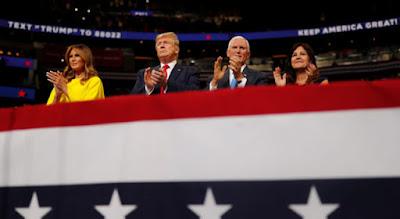 Donald Trump anuncia su reelecion a la presidencia e EE.UU
