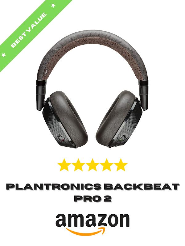 Plantronics Backbeat Pro 2 Headphones on amazon
