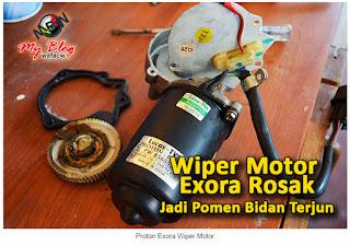 wiper motor exora