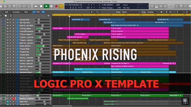 Jon Brooks - Logic Pro Templates