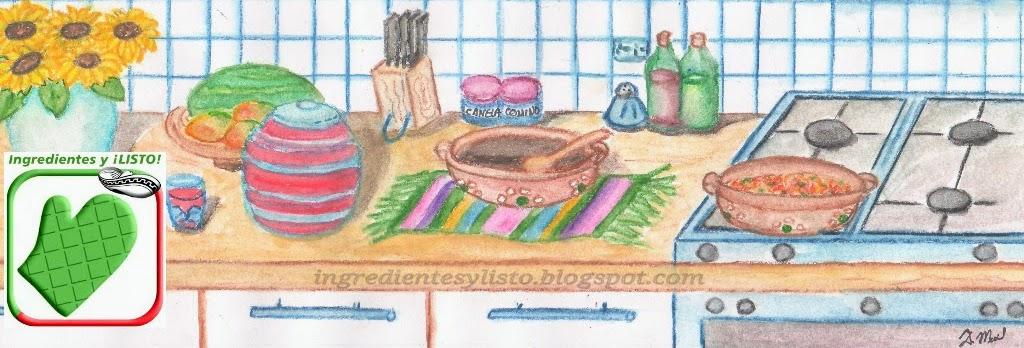Ingredientes y ¡Listo!