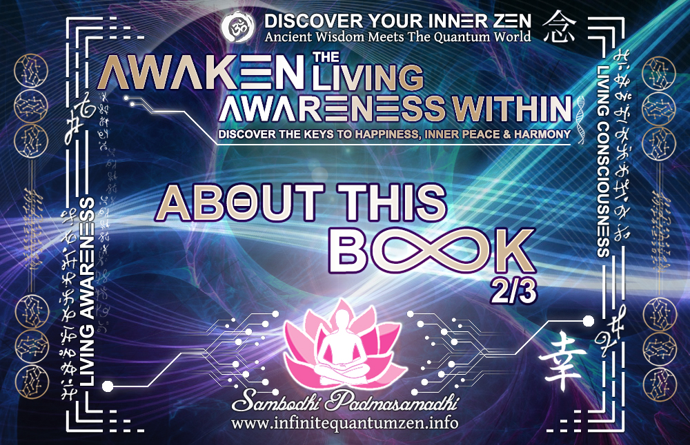 About This Book, infinite living system life, the book of zen awareness, alan watts mindfulness key to happiness peace joy