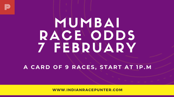 Mumbai Race Odds 7 February
