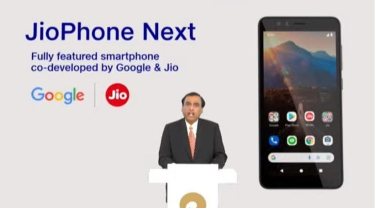 JioPhone Next With Optimised Android Experience Launched in India Price, Specifications, How to book, Release Date