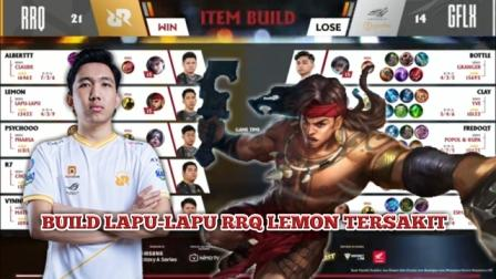 Build Lapu-Lapu RRQ Lemon Tersakit