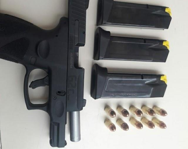 Homem é detido com arma de fogo em Tacaimbó, PE