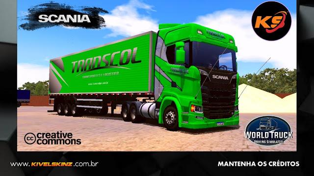 SCANIA S730 - TRANSCOL TRANSPORTES VERDE