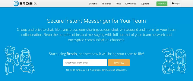 Online Meeting Software-Brosix-Best Virtual Assistant Software Tools to Optimize Productivity-Hire A Virtual Assistant