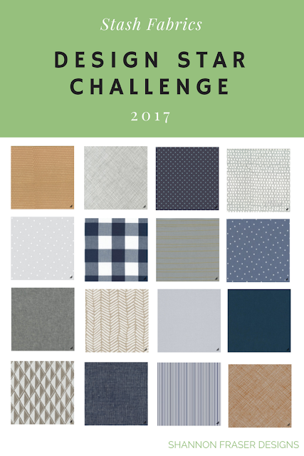 Stash Fabrics Design Star Challenge - Round 4 | Man Quilt Fabric Bundle | Shannon Fraser Designs | Quilting Cotton | Modern Quilting