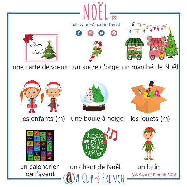 Święta Bożego Narodzenia #2 - słownictwo 30 - Francuski przy kawie