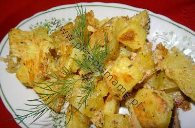 Ziemniaki zapiekane z jajkiem
