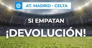 Paston promocion Atletico vs Celta 8-2-2021