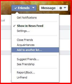 What is restricted on facebook