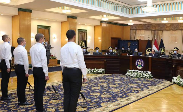 الرئيس السيسي يحضر اختبار کشف الهيئة للطلبة المتقدمين للالتحاق بكلية الشرطة