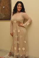 Mumaith Khan in Beig Skin Colored Anarkali Dress at Kalamandir Foundation 7th anniversary Celebrations ~  Actress Galleries 020.JPG
