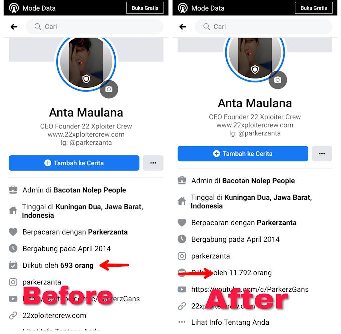 Cara Menambah Pengikut Di Facebook