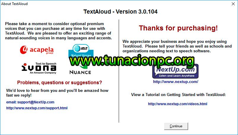 TextAloud v3.0.104